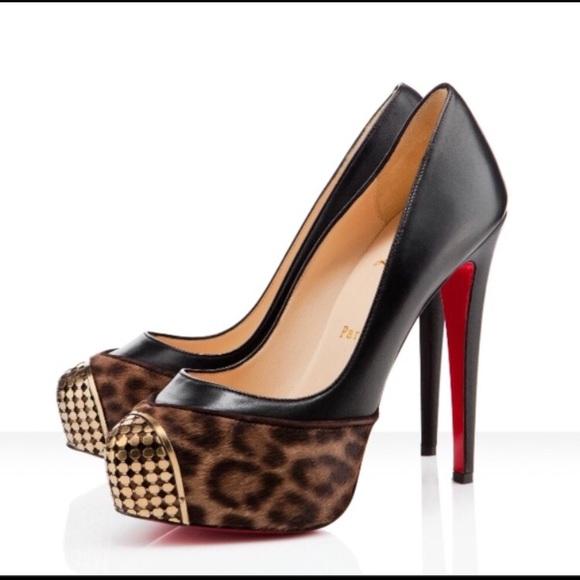 d7b36e8e3b39 Christian Louboutin Shoes | Maggie Pony Leopard Chadk | Poshmark